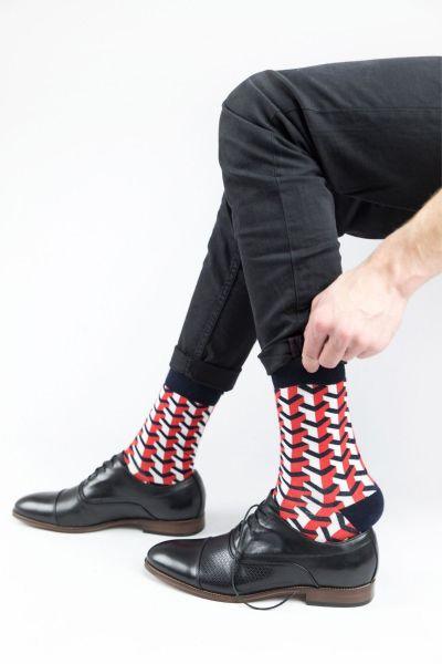 Ανδρικές Εφηβικές Fashion Κάλτσες Crazy Socks LABYRINTH II