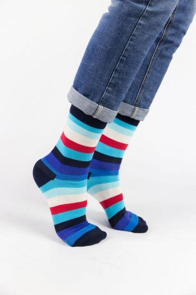 Ανδρικές Εφηβικές Fashion Κάλτσες Crazy Socks LINES