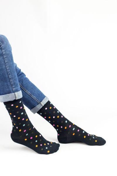 Ανδρικές Fashion Κάλτσες Crazy Socks MINI DOTS I
