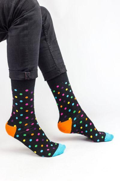 Ανδρικές Fashion Κάλτσες Crazy Socks MINI DOTS II
