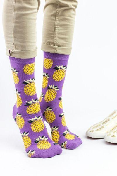 Ανδρικές Fashion Κάλτσες Crazy Socks PINEAPPLE