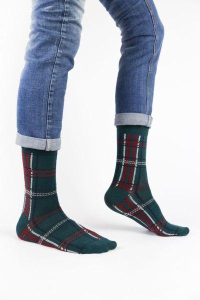 Ανδρικές Εφηβικές Fashion Κάλτσες Crazy Socks TARTAN