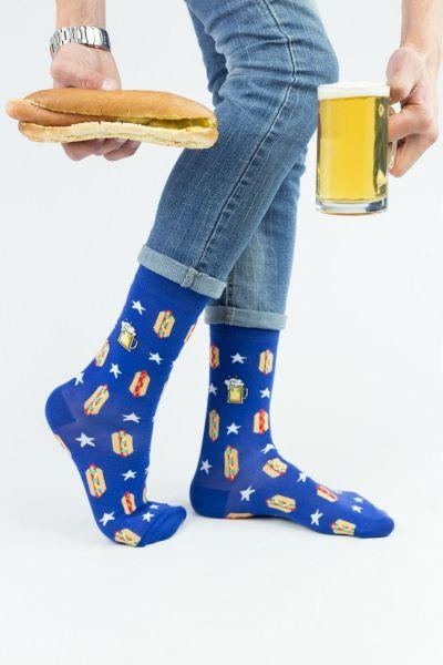 Ανδρικές Fashion Κάλτσες John Frank HOT DOG