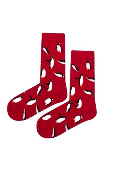 Γυναικείες Fashion Κάλτσες John Frank RED PENGUIN