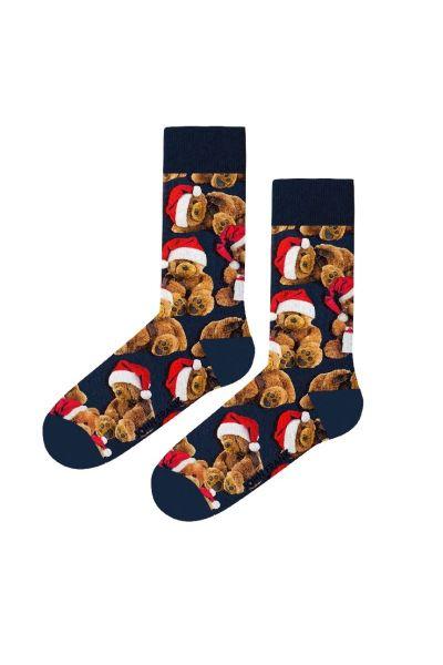 Γυναικείες Fashion Κάλτσες John Frank TEDDY - Christmas Edition