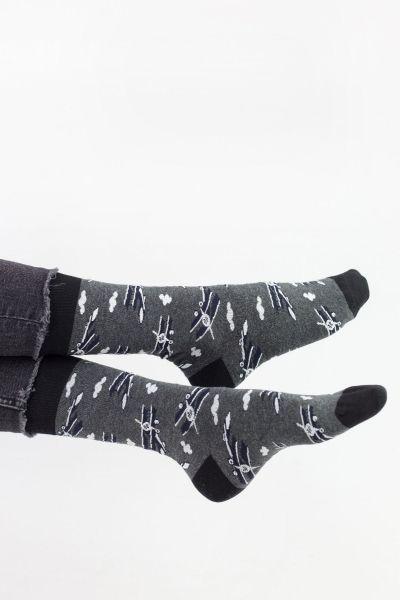 Ανδρικές Fashion Κάλτσες John Frank VINTAGE PLANE