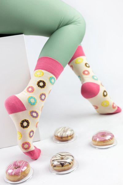 Γυναικείες Fashion Κάλτσες Livoni DONUTS MINI