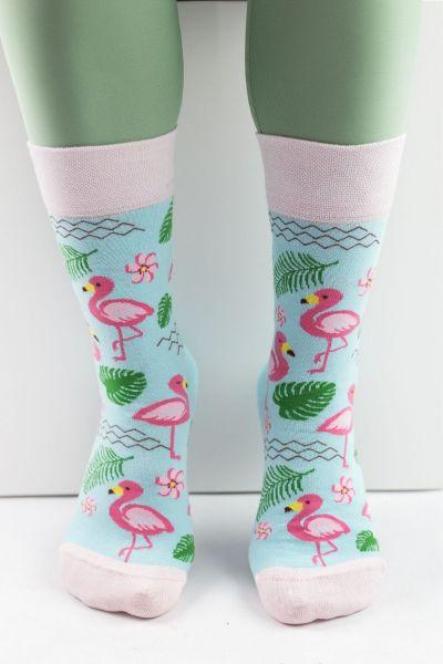 Γυναικείες Fashion Κάλτσες Livoni FLAMINGO