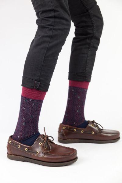 Ανδρικές Fashion Κάλτσες Trendy BINARY CODE