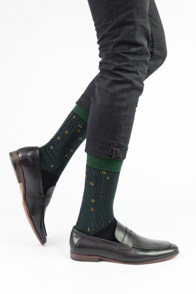 Ανδρικές Fashion Κάλτσες Trendy BINARY CODE II