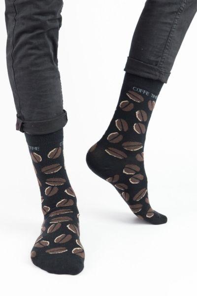 Ανδρικές Fashion Κάλτσες Trendy COFFEE