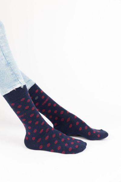Ανδρικές Fashion Κάλτσες Trendy RED DOTS