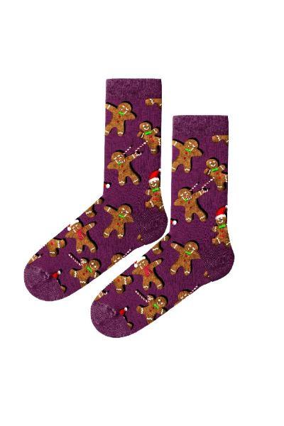 Γυναικείες Fashion Κάλτσες John Frank GINGERBREAD - Christmas Edition