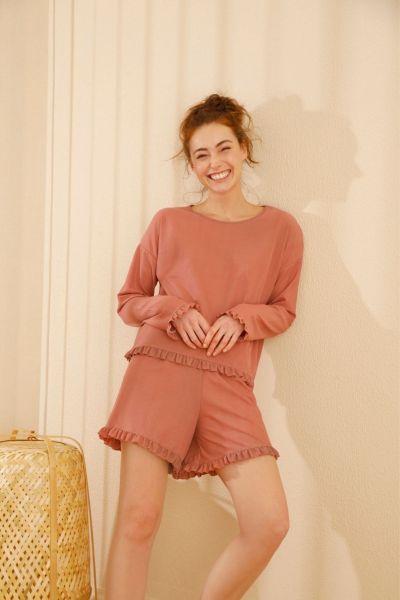 Γυναικείο Homewear Σορτσάκι Sexen LOLITA PINK