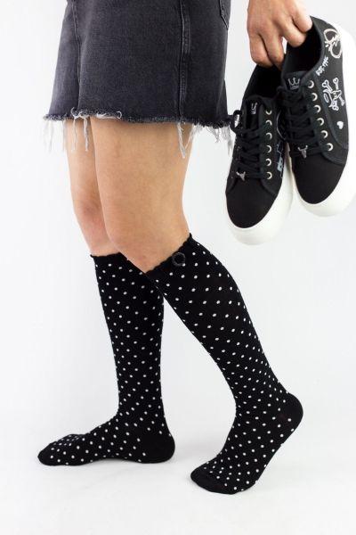Γυναικείες Κάλτσες Knee-High Bony DOTS BUCKLE