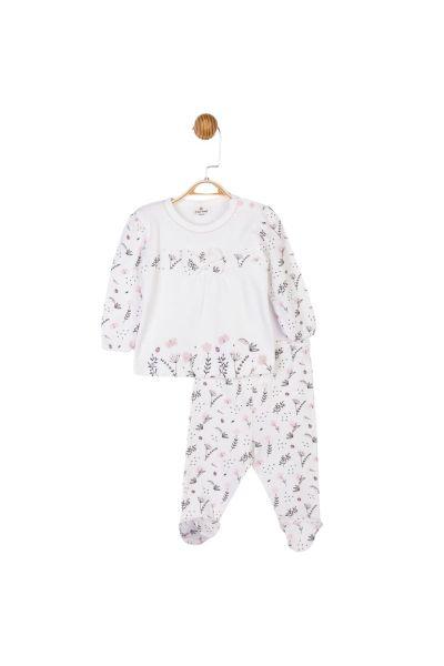 Βρεφικό Σετ Κορίτσι Luggi Baby FLOWER