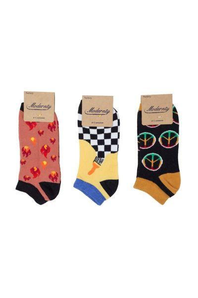Γυναικείες κάλτσες σοσόνια  Modernty BONFIRE 3 ζευγάρια