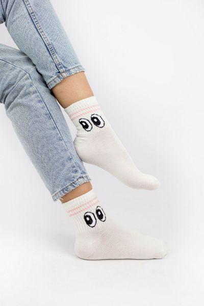 Γυναικείες Ημίκοντες Κάλτσες Modernty EYES 4 ζευγάρια