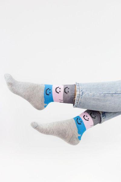 Γυναικείες Ημίκοντες Κάλτσες Modernty HAPPY 4 ζευγάρια