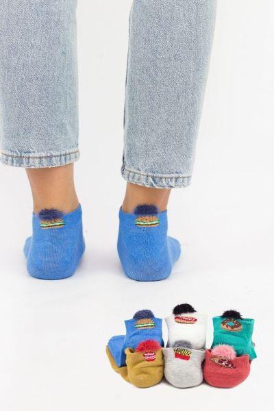 Γυναικείες κάλτσες σοσόνια Modernty JUNK FOOD 6 ζευγάρια