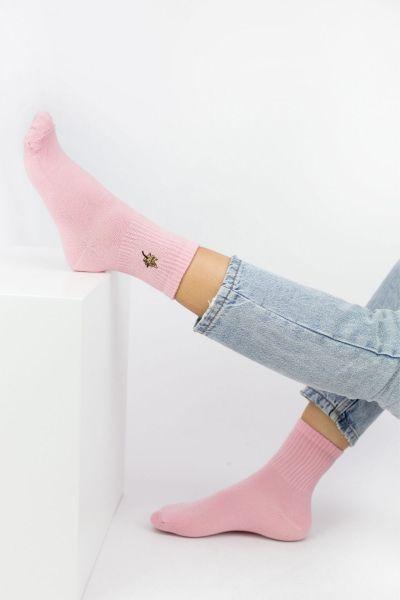Γυναικείες ημίκοντες κάλτσες Modernty LEAF DOUBLE 2 ζευγάρια