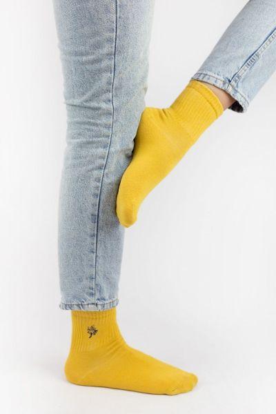 Γυναικείες ημίκοντες κάλτσες Modernty LEAF TRIPLE 3 ζευγάρια
