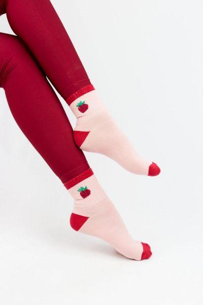 Γυναικείες Ημίκοντες Κάλτσες Modernty PASTEL FRUIT PINK