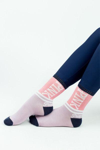 Γυναικείες Ημίκοντες Κάλτσες Modernty PINK