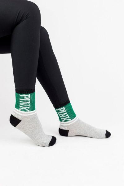 Γυναικείες Ημίκοντες Κάλτσες Modernty PINK GREEN