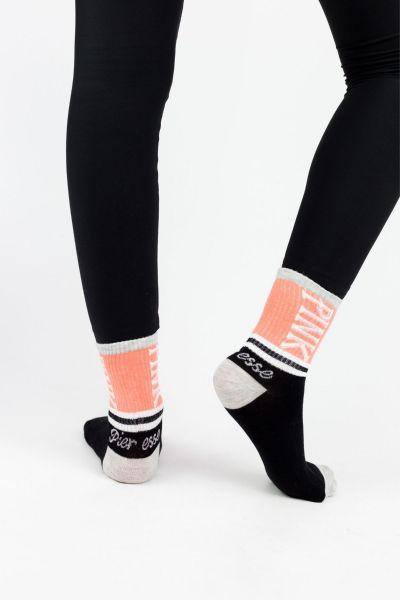 Γυναικείες Ημίκοντες Κάλτσες Modernty PINK ORANGE