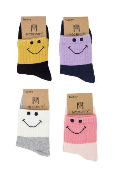 Γυναικείες Ημίκοντες Κάλτσες Modernty SMILE 4 ζευγάρια