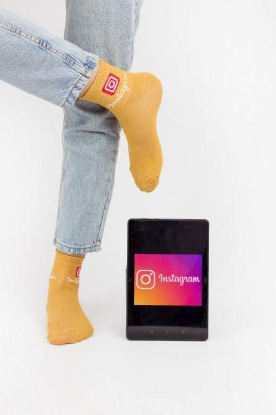 Γυναικείες ημίκοντες κάλτσες Modernty SOCIAL MEDIA 4 ζευγάρια