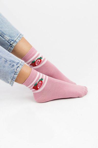 Γυναικείες  Ημίκοντες Κάλτσες Modernty SUMMER FRUITS 4 ζευγάρια