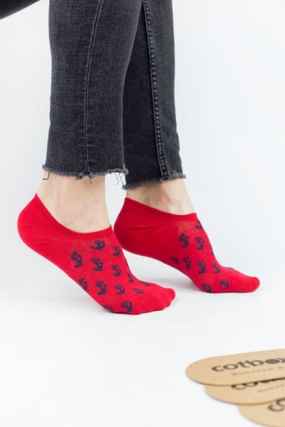 Ανδρικά σοσόνια no show κάλτσες  Cotbox ANCHOR