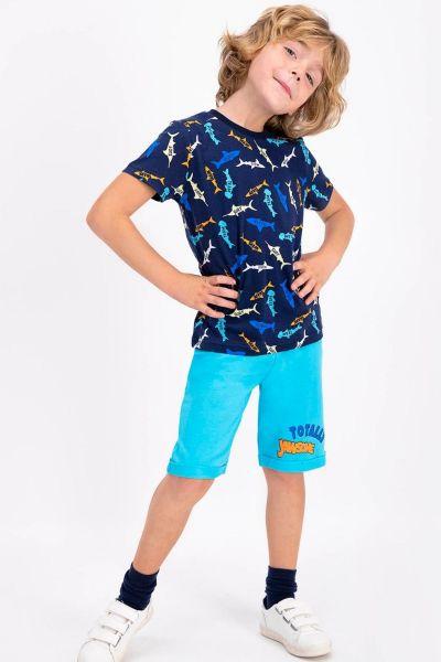 Παιδική Πιτζάμα Σορτσάκι Rolly Polly JAWSOME