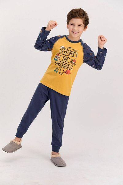 Παιδική πιτζάμα για αγόρι  Roly Poly CAMPER