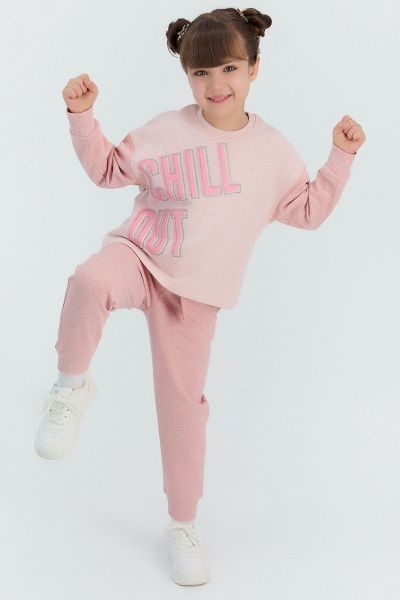 Παιδική φόρμα για κορίτσι Roly Poly CHILL OUT