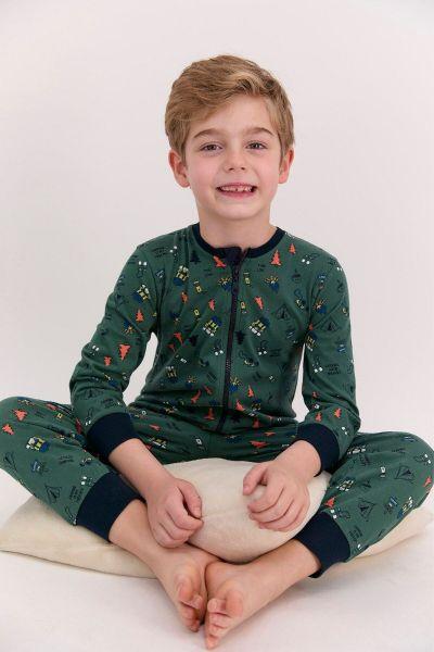 Παιδική ολόσωμη πιτζάμα για αγόρι Roly Poly HIKING