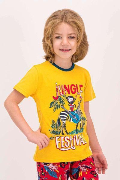Παιδική Πιτζάμα Κάπρι Roly Poly JUNGLE FEST