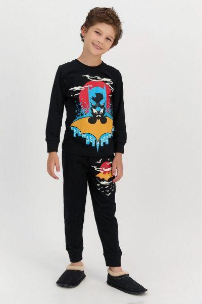 Παιδική πιτζάμα για αγόρι Roly Poly MONOCHROME BATMAN