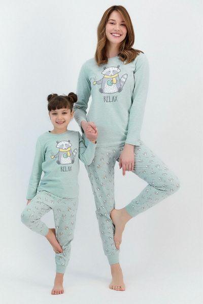 Γυναικεία χειμωνιάτικη πιτζάμα Roly Poly RELAX