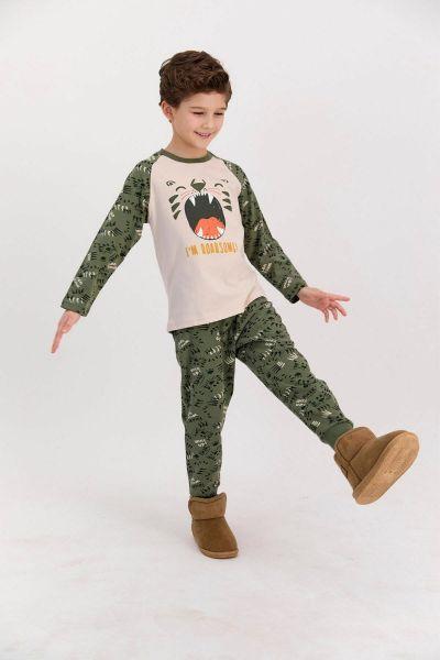 Παιδική πιτζάμα για αγόρι Roly Poly ROAR II