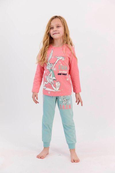 Παιδική πιτζάμα για κορίτσι  Roly Poly SNOWY BUGS BUNNY