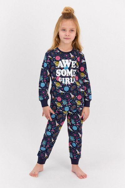 Παιδική πιτζάμα για κορίτσι  Roly Poly  SPACE