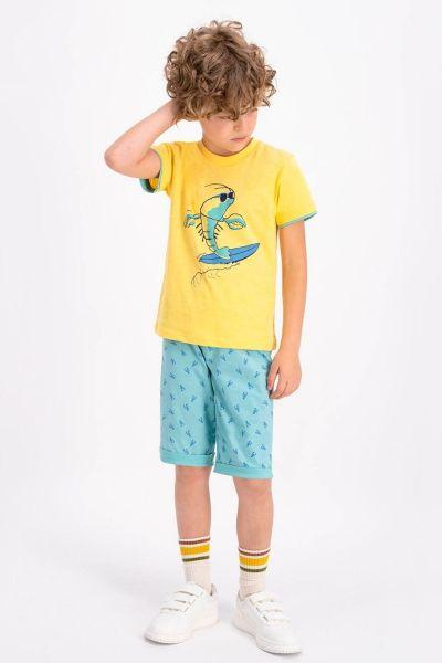 Παιδική Πιτζάμα Σορτσάκι  Roly Poly SURF