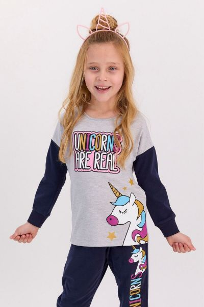 Παιδική πιτζάμα για κορίτσι Roly Poly UNICORNS ARE REAL