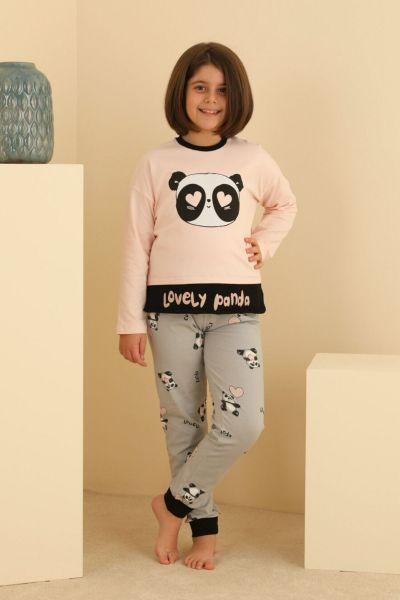 Παιδική χειμωνιάτικη πιτζάμα Sevim LOVELY PANDA