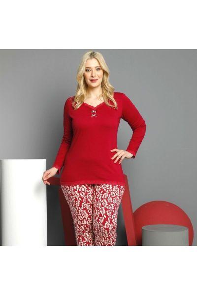 Γυναικεία Πιτζάμα Sexen Plus Size LOVERS