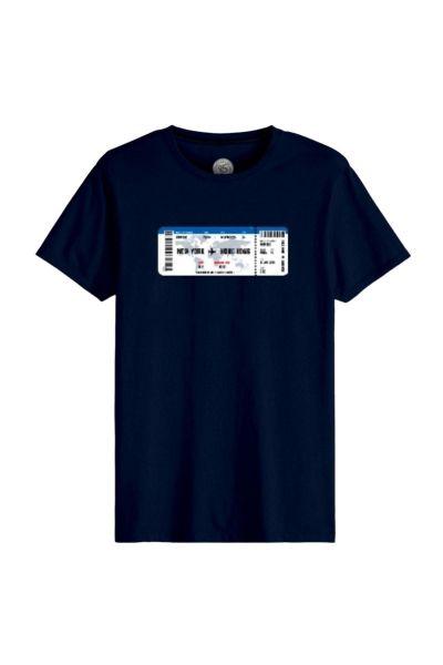 Ανδρικό T-Shirt John Frank TICKET