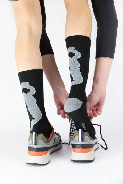 Αθλητικές κάλτσες Trendy 2 ζευγάρια πολύχρωμο